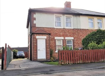 Thumbnail 3 bedroom semi-detached house for sale in Second Avenue, Morpeth