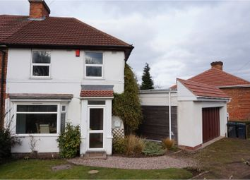 Thumbnail 3 bed semi-detached house for sale in Hotspur Road, Kingstanding, Birmingham