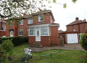 Thumbnail 3 bedroom semi-detached house for sale in Buteland Road, Denton Burn, Newcastle Upon Tyne