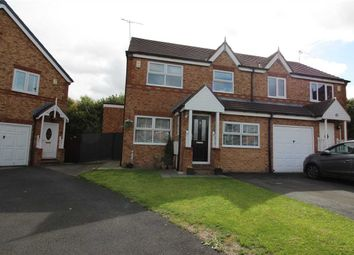 Thumbnail 3 bed semi-detached house for sale in Medway Place, Northburn Edge, Cramlington