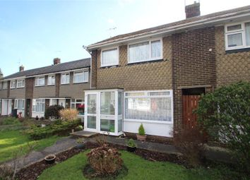Thumbnail 3 bed end terrace house for sale in Greentrees Crescent, Sompting, West Sussex