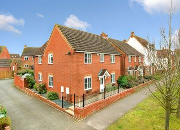 Thumbnail 4 bedroom detached house for sale in Wickstead Avenue, Grange Farm, Milton Keynes