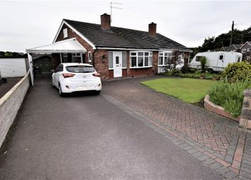 Thumbnail 2 bedroom semi-detached bungalow to rent in Windmill Avenue, Kidsgrove, Stoke-On-Trent