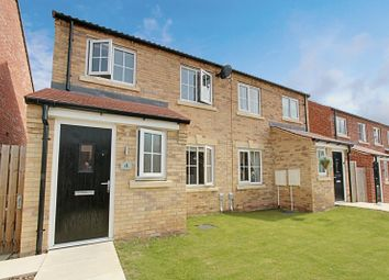 Thumbnail 3 bed semi-detached house for sale in Haddon Close, Elloughton, Brough