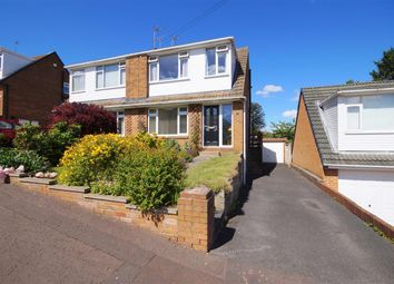 Thumbnail 3 bed semi-detached house for sale in Castlefields Crescent, Brighouse