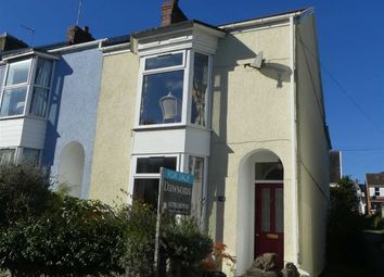 Thumbnail 3 bedroom end terrace house for sale in Woodville Road, Mumbles, Swansea