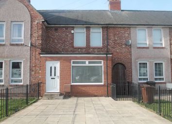 Thumbnail 3 bed terraced house for sale in Burnham Grove, Walker, Newcastle Upon Tyne
