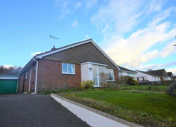 Thumbnail 3 bed semi-detached bungalow for sale in Long Meadows, Crediton, Devon