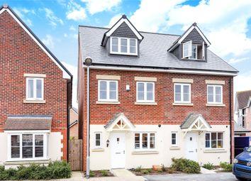 Thumbnail 4 bed semi-detached house for sale in Shearwater Drive, Jennett's Park, Bracknell, Berkshire
