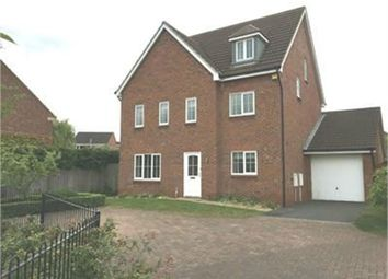 Thumbnail 5 bed detached house to rent in Monks Way, Shireoaks, Worksop, Nottinghamshire