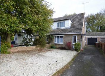 Thumbnail 2 bed semi-detached house for sale in Central Avenue, Woodford Halse, Northants