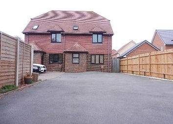 Thumbnail 3 bed town house to rent in Station Road, Hayling Island