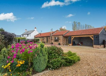 Thumbnail 3 bed detached bungalow for sale in School Road, Terrington St. John, Wisbech