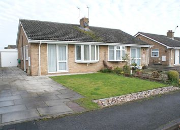 Thumbnail 2 bed semi-detached bungalow for sale in Churchfield Drive, Wigginton, York