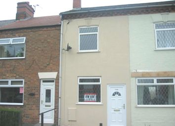 Thumbnail 3 bed terraced house to rent in Whitehill Road, Ellistown