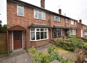Thumbnail 3 bed terraced house to rent in Fielding Road, Birstall, Leicester