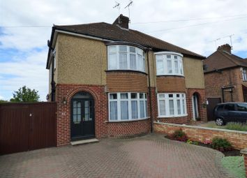 Thumbnail 3 bed semi-detached house to rent in Liscombe Road, Dunstable