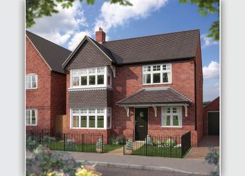 "Thumbnail 4 bed detached house for sale in ""The Canterbury"" at Bishopton Lane, Bishopton, Stratford-Upon-Avon"