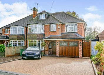 5 bed semi-detached house for sale in Stoneleigh Road, Solihull B91
