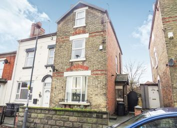 Thumbnail 4 bed semi-detached house for sale in Byron Street, New Normanton, Derby