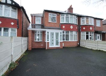 Thumbnail 4 bedroom semi-detached house for sale in Rosslyn Road, Old Trafford, Manchester