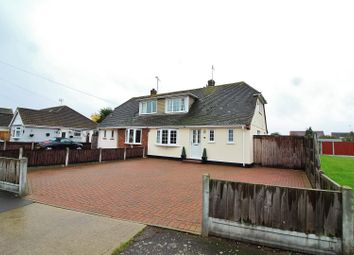 Thumbnail 3 bed semi-detached house for sale in Willow Close, Canvey Island