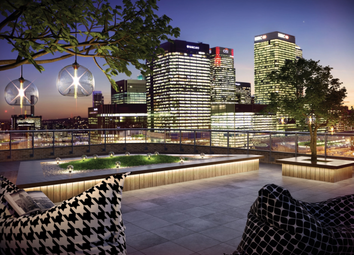 Thumbnail 1 bed flat for sale in Roosevelt Tower, London