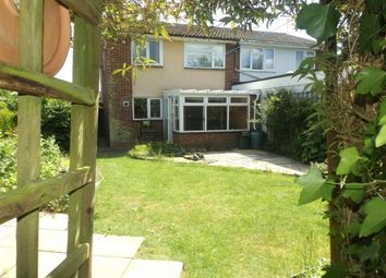 Thumbnail 3 bedroom semi-detached house to rent in Cottesford Close, Hadleigh, Ipswich