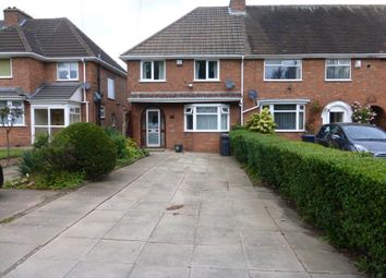 Thumbnail 3 bedroom end terrace house for sale in Frankley Beeches Road, Northfield, Birmingham