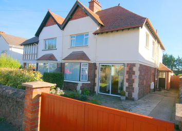 Thumbnail 4 bedroom semi-detached house for sale in Ponsford Road, Minehead