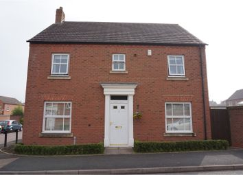 Thumbnail 4 bed detached house for sale in Blakeman Way, Lichfield