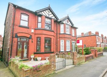 Thumbnail 4 bed semi-detached house for sale in Cheadle Old Road, Stockport, Greater Manchester