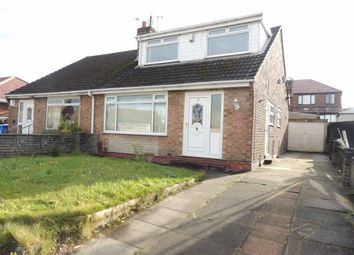 Thumbnail 3 bed semi-detached bungalow for sale in Martin Close, Denton, Manchester
