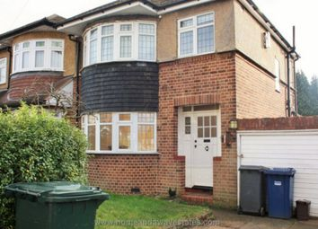 Thumbnail 3 bed semi-detached house to rent in Bevan Road, London