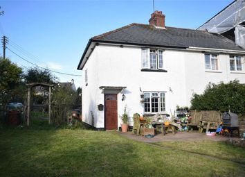 Thumbnail 2 bedroom semi-detached house for sale in East End, Poughill, Crediton