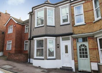 Thumbnail 3 bed end terrace house for sale in Grotto Hill, Margate