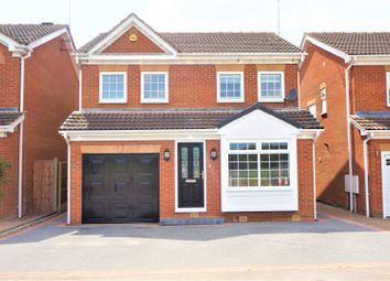 Thumbnail 4 bed detached house for sale in Stubbing Lane, Worksop
