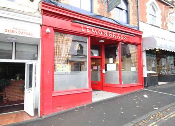Thumbnail Restaurant/cafe for sale in High Street, Exmouth