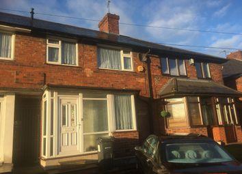 Thumbnail 3 bedroom terraced house to rent in Tyburn Road, Erdington