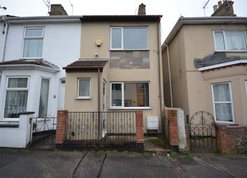 Thumbnail 3 bed end terrace house to rent in Cambridge Road, Lowestoft, Suffolk