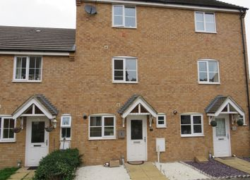 Thumbnail 3 bed terraced house for sale in Wingfield Court, Grantham