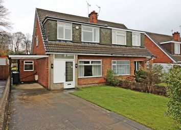 Thumbnail 3 bed semi-detached house for sale in Highwood Avenue, Moortown, Leeds