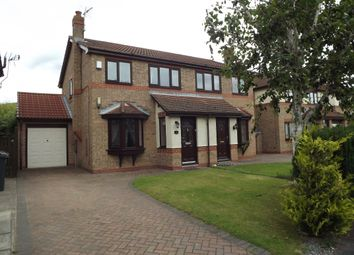 Thumbnail 3 bed semi-detached house to rent in Westpark Drive, Darlington