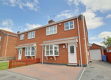 Thumbnail 3 bed semi-detached house for sale in Ferry View, Thorngumbald, Hull