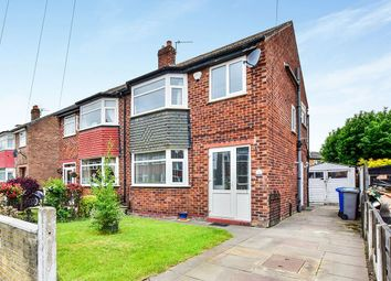 Thumbnail 3 bed semi-detached house for sale in Beech Road, Sale, Greater Manchester