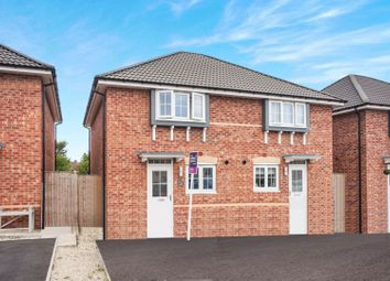 Thumbnail 3 bed semi-detached house for sale in Amber Close, Upton, Pontefract