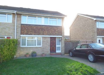 Thumbnail 3 bed semi-detached house for sale in Cranleigh Drive, Swanley