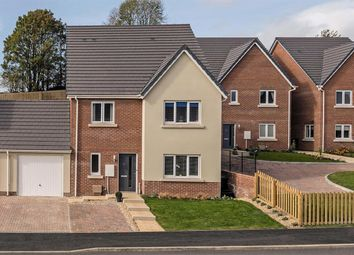 "Thumbnail 4 bed link-detached house for sale in ""The Walmer"" at Vicarage Hill, Kingsteignton, Newton Abbot"