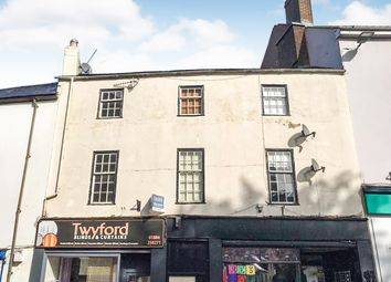 Thumbnail 2 bed flat for sale in Fore Street, Tiverton
