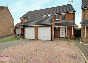 Thumbnail 1 bed semi-detached house for sale in Darien Way, Leicester